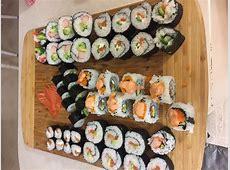 [homemade] Sushi rolls   Philadelphia, California, salmon