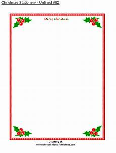 Holiday Letterhead Free Download Free Printable Stationery Free Printable Unlined