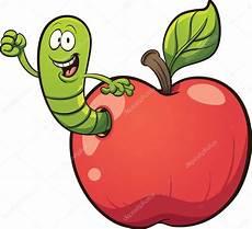 Malvorlagen Apfel Mit Wurm Wurm Aus Dem Apfel Stockvektor 169 Memoangeles