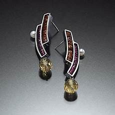 Kinzig Design Jewelry Egyptian Earrings Susan Kinzig Silver Amp Stone Earrings