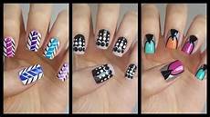 Nail Art Easy Easy Nail Art For Beginners 16 Jennyclairefox Youtube
