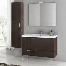 modern 39 inch bathroom vanity set with storage cabinet