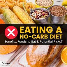 no carb diet plan benefits foods to eat potential risks