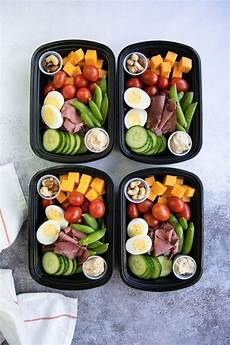protein snack pack lunch meal prep the forked spoon