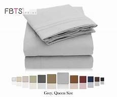 fbts basic bed sheets size brushed microfiber