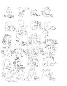 malvorlagen fur kinder ausmalbilder alphabet kostenlos