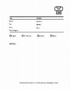 Fax Download Free Fax Cover Sheets Fax Cover Sheet Templates