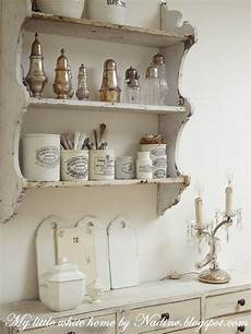 etagere shabby lovely weathered plate rack with stoneware and silver