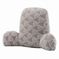 velvet back support pillows with arms sofa bed rest pillow