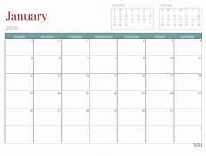 12 Months Calendar 2020 Printable Free Printables Morganize With Me Morgan Tyree