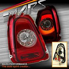 R56 Lights Clear Red Lights With 3d Stripe Bar Amp Led Indicators