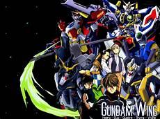 mobile suit gundam anime my shiny robots anime review gundam wing