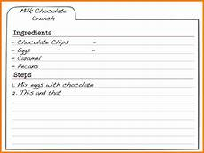 Templates For Recipes 5 Free Editable Recipe Card Templates For Microsoft Word