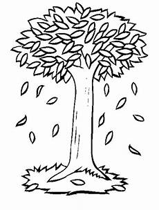 tree leaves coloring pages at getcolorings free