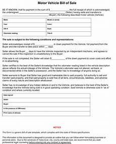Vehicle Bill Of Sale Illinois Illinois Auto Bill Of Sale Form 8ws Templates Amp Forms