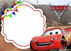 Cars Birthday Invitation Templates Free The Cars 3 With Photo Invitation Template Free