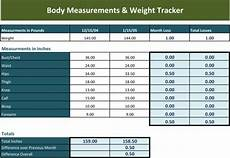 Weight Tracking Spreadsheet Weight Tracking Template 5 Best Tracker Spreadsheets