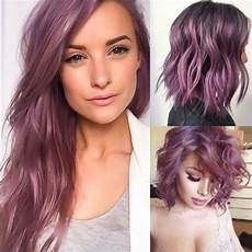 Light Brown Mauve Hair Smokey Rose Purple Mauve Hair Color Beauty Things