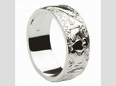 """Sterling Silver Ladies """"Galway"""" Claddagh Ring 6mm"""
