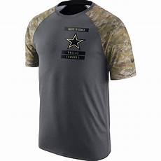 army clothes for cowboys nike nfl dallas cowboys s salute to service raglan