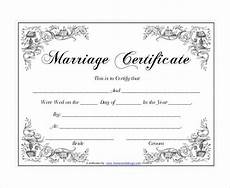 Printable Marriage Certificate 10 Marriage Certificate Templates With Images Wedding