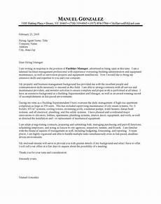Cover Letter For Maintenance Manager Sample Cover Letter Maintenance Position Building