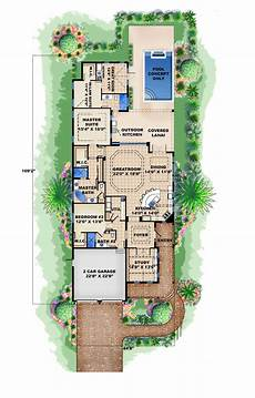 Home Design Story Review Coastal Home Plan 3 Bedrms 3 Baths 2972 Sq Ft 175 1250