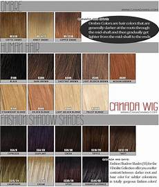 Wigs Color Chart Raquel Welch Wig Color Chart Canada Wigs