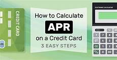 Credit Card Apr Calculator How To Calculate Apr On A Credit Card 3 Easy Steps