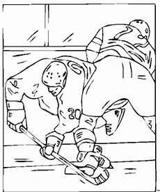 eishockey check ausmalbild malvorlage sport
