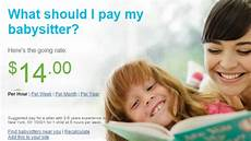 Looking For A Sitter This Calculator Shows How Much You Should Pay Your Babysitter