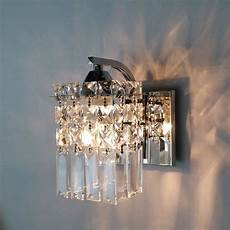 Crystal Sconce Lights Crystal Wall Sconce Modern Wall Light Indoor Decorative