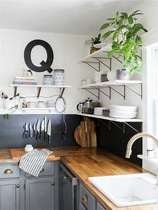 how to replace cabinets with open shelving diy