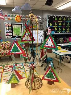 weihnachtsgeschenke kindergarten ornament craft grade blue skies
