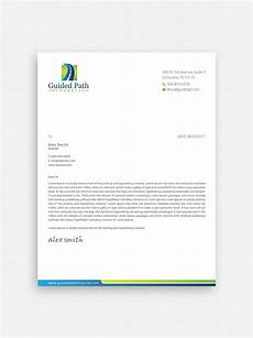 Professional Letterhead Serious Professional Business Letterhead Design For A