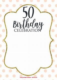50th Birthday Party Invitation Template 50th Birthday Invitations Online Drevio