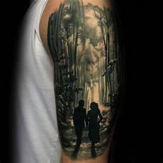 Forest Arm Design Forest Designs Ideas And Meaning Tattoos For You