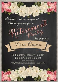 Template For Retirement Party Invitation Retirement Party Invitation 7 Premium Download