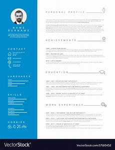 Cv Layout Templates Cv Template Begging Introduction Letter