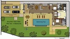 Floor Plan Of A Villa Floor Plans Mountain View Villas Phuket