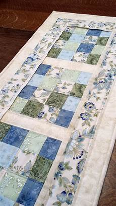 quilted table runner floral table runner patchwork floral