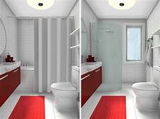 ideas for showers in small bathrooms roomsketcher 10 small bathroom ideas that work