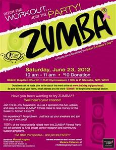 Free Zumba Flyer Templates 6 23 Charity Zumba Party In Dc