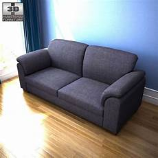 Home Usa Sofa 3d Image by 3d Model Of Ikea Tidafors Three Seat Sofa Sofa Ikea