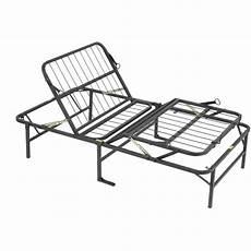 pragma simple adjust bed frame and foot