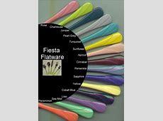 Fiesta Flatware Vintage   House Furniture