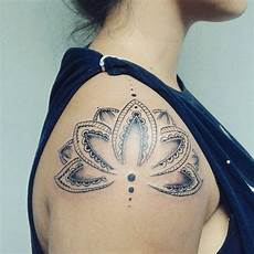 Lotus Flower Designs On Shoulder Lotus Shoulder Ink Me