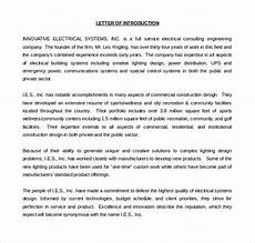 Introduction Letter Samples 11 Letter Of Introduction Templates Pdf Doc Free