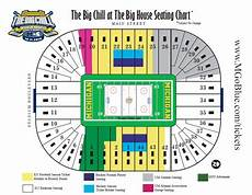 University Of Michigan Big House Seating Chart Winter Classic Tickets 2013 Nhl Winter Classic At The Big