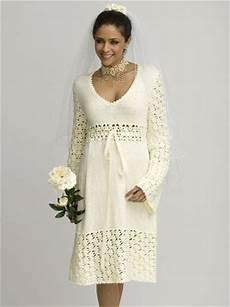 knitting dress free wedding projects wedding dress pattern to knit crochet